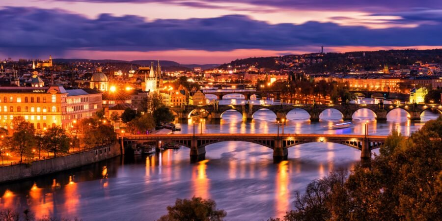 Night Life in Prague